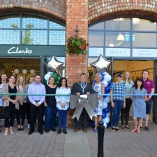 Two national stores officially open now in Marshall�s Yard